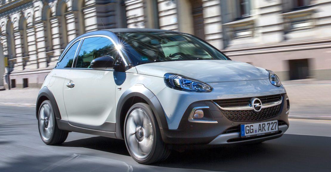 Opel ADAM Обзор автомобиля Opel Adam