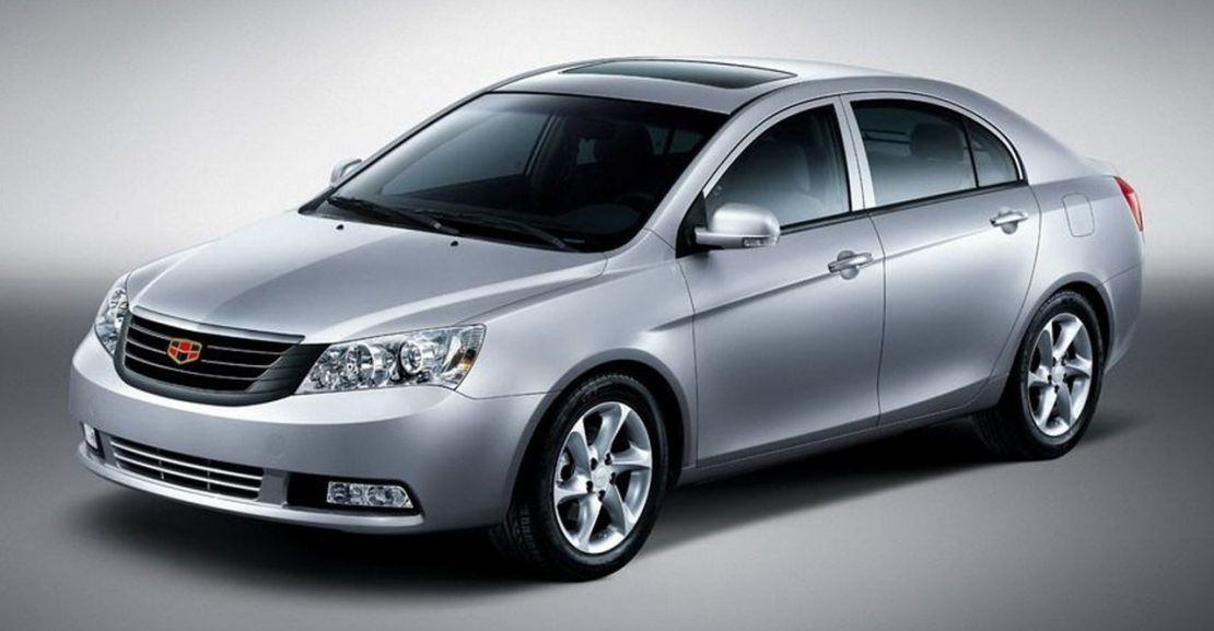 cattouchret 4 Geely выбирает седан?