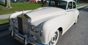 853 p4 l Хрустальный Rolls Royce Silver Cloud